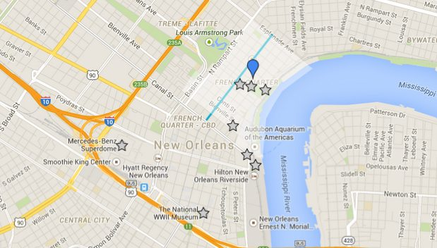 Place D Armes Hotel Directions French Quarter Downtown New Orleans