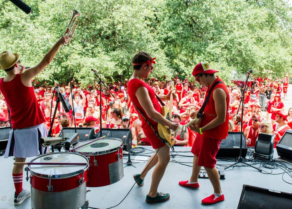 Red Dress Run In New Orleans, LA