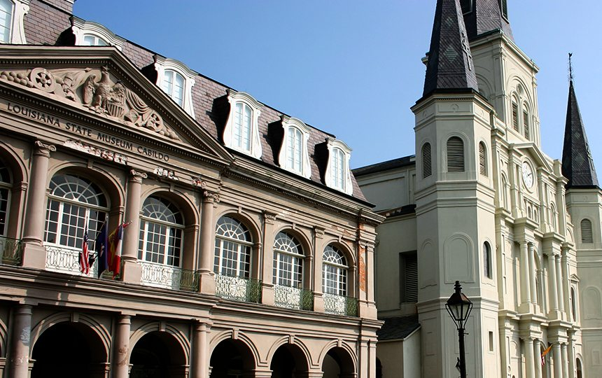 The Cabildo in New Orleans