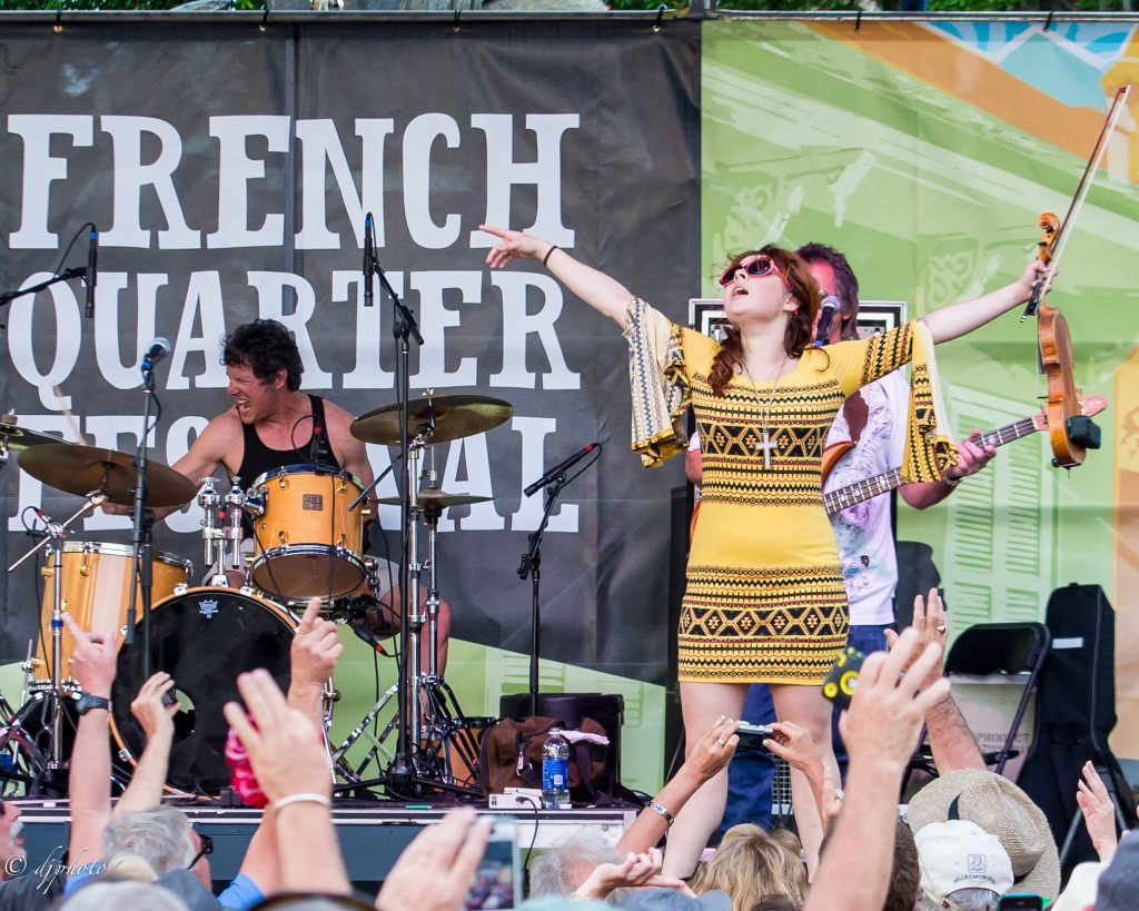 French Quarter Festival NOLA