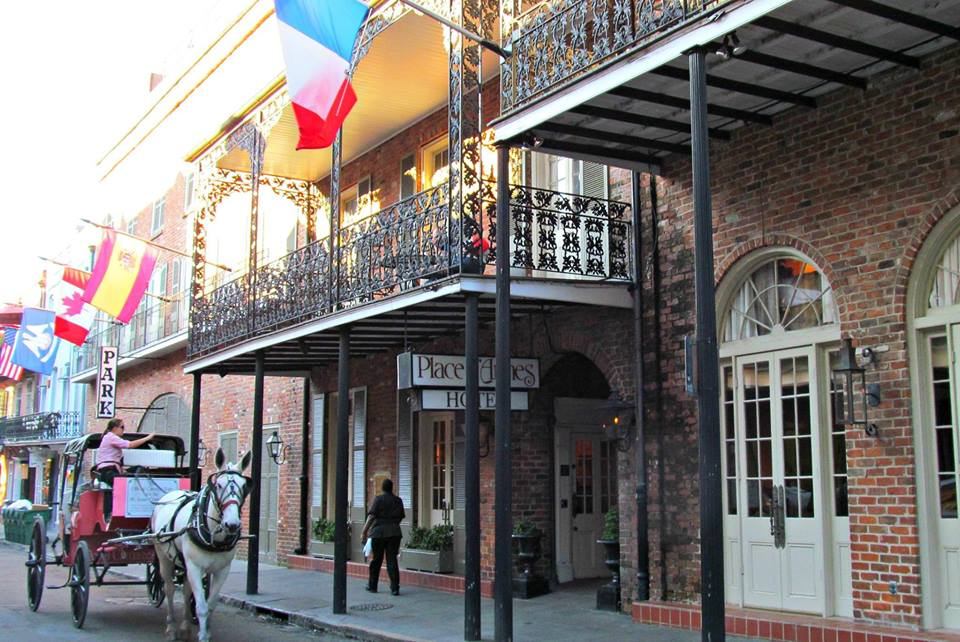 Place D'Armes exterior balcony