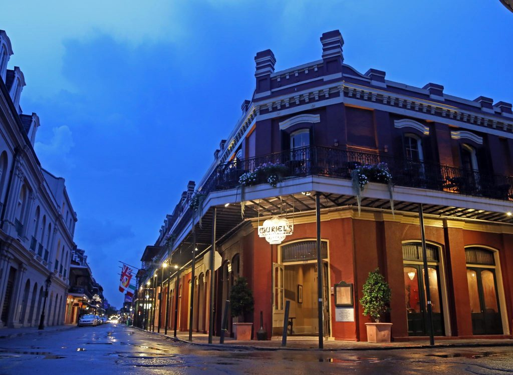 The New Orleans French Quarter